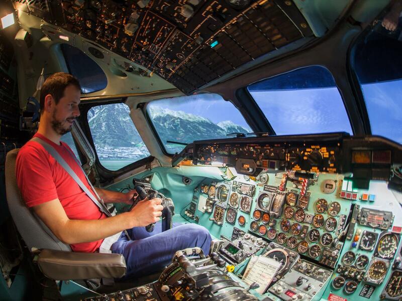 Letecký simulátor DC-9 + let v Cessně 172