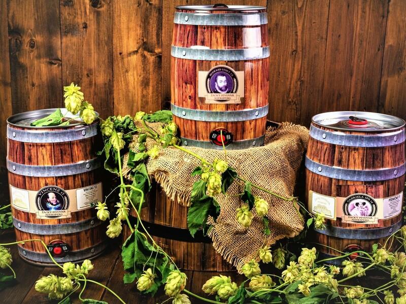 3 párty soudky řemeslného piva Auersperg: 3 × 5 l