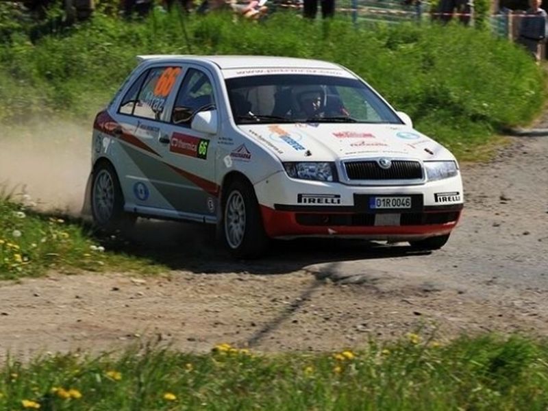 Spolujezdcem v Rallye