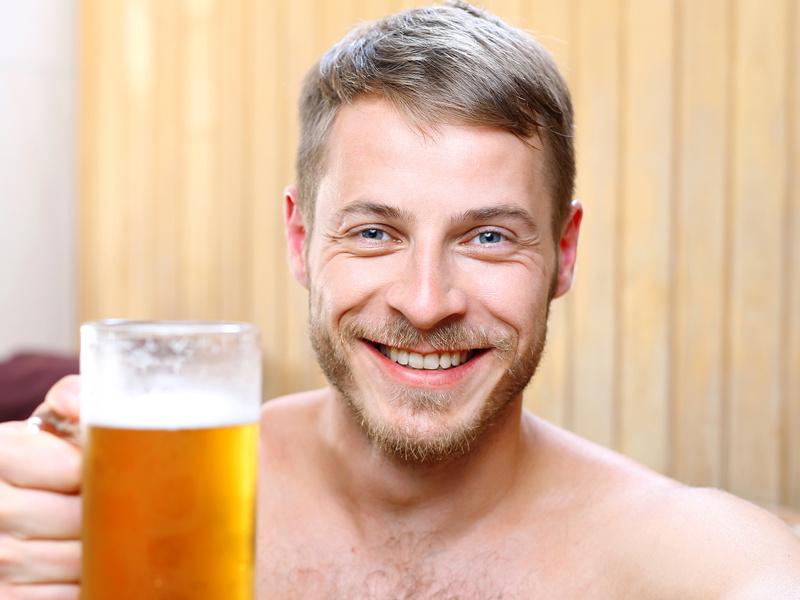 Pivní koupel pro milovníky piva