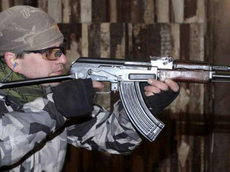 Army streľba na krytej strelnici