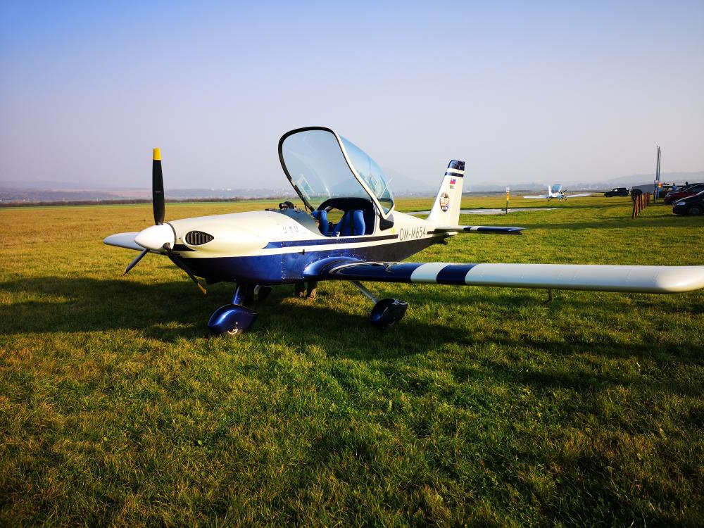 Pilotovanie lietadla na skku ako zitkov darek